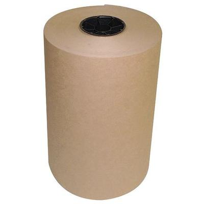 VALUE BRAND KR1240 Kraft Paper, 40 lb., Brown, 12 In. W