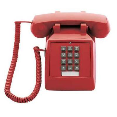 CETIS 2510E (Red) Standard Desk Phone, Red
