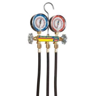 Mechanical Manifold Gauge Set, Yellow Jacket, 42044