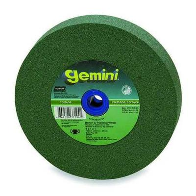 Norton 66252837193 Grinding Wheel, T1, 6x1x1, SC, 80G, Green