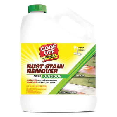 Goof Off GSX00101 Rust Remover, 1 gal., Bottle