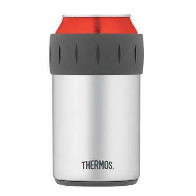 Thermos Beverage Can Insulator, Stainless Steel, 2700TRI6