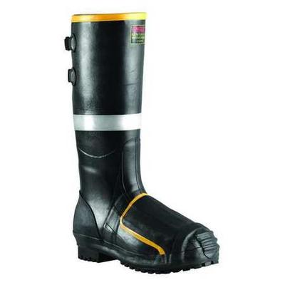 Tingley MB816B Mining Boots, Steel Toe, Rubber, 16In, 9, PR