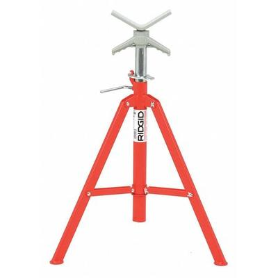 Ridgid 22168 V-Head Pipe Stand, 12 In.