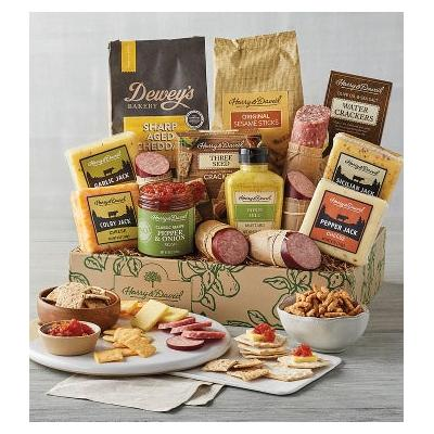 Ultimate Meat and Cheese Gift Box - Gift Baskets & Fruit ...