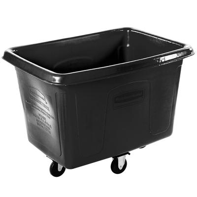 Rubbermaid FG461400BLA Black 14 Cu. Ft. Bulk Cube Truck (...