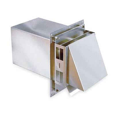 Tjernlund VH1-3 High Temp Side Wall Vent Hood, 3 In