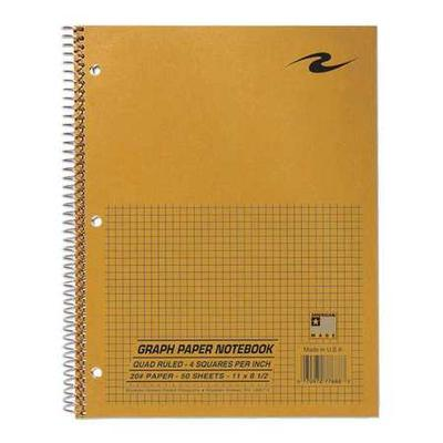Roaring Spring Paper 77688 Lab Notebook, 8-1/2 in. x 11 i...