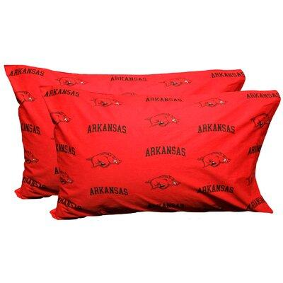 College Covers NCAA Arkansas Razorbacks Pillowcase ARKPCK...