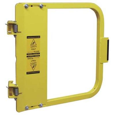 Safety Gate,34-3/4 to 38-1/2 In,Steel PS DOORS LSG-36-PCY