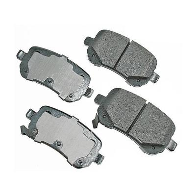 2008-2012 Dodge Grand Caravan Rear Brake Pad Set - Akebon...