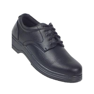 Men's Deer Stags Service Oxford by Haband, Black Size 8 W