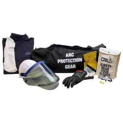 Arc Flash Coverall Kit,Navy,XL CHICAGO PROTECTIVE APPAREL...