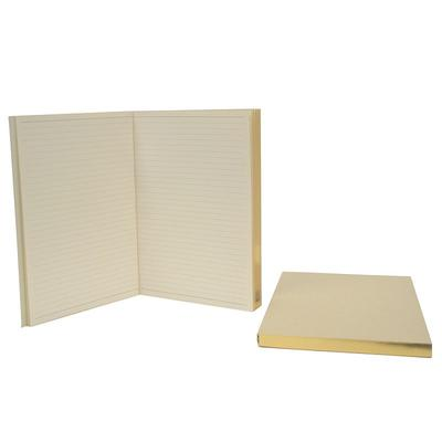Royce Leather Journal Replacements, White