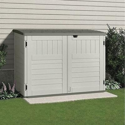 Suncast BMS4700 Outdoor Storage Shed, 70-1/2inWx44-1/4inD