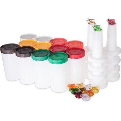 Carlisle Food Service Products Stor N' Pour® 1-qt. Comple...