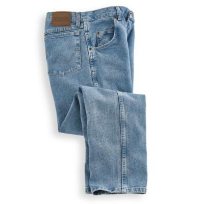 Men's Rugged Wear Relaxed Fit Jeans by Wrangler, Blue, Si...