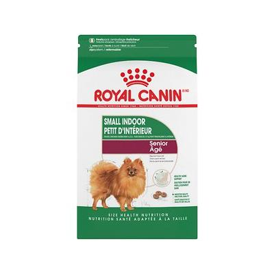 Royal Canin Size Health Nutrition Indoor Small Breed Senior Dry Dog Food, 2.5-lb bag