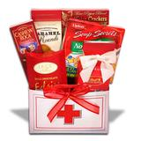 Alder Creek Dr.s Orders Get Well Gift Box, Multicolor | White Wine Red