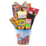 Alder Creek Get Well Soon Pail Gift Set for Kids, Multicolor | White Wine Red