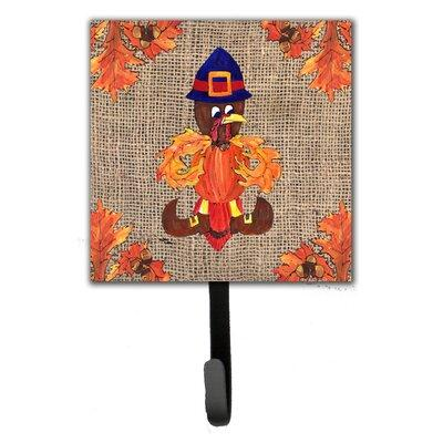 Caroline's Treasures Thanksgiving Turkey Pilgrim Fleur De...
