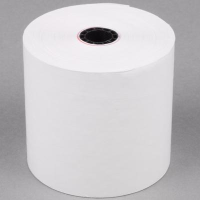 "2 3/4"" x 190' Traditional Bond Cash Register POS Paper Ro..."