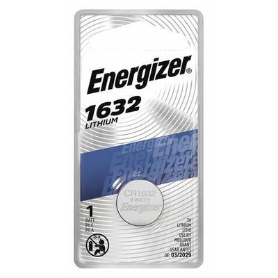 Energizer ECR1632BP Coin Cell,1632,3V G0459910