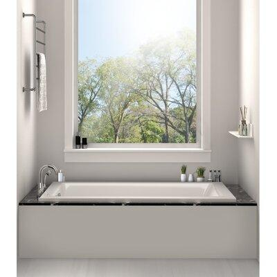 "Fine Fixtures Drop-In Bathtub 32"" x 48"" Soaking Bathtub B..."