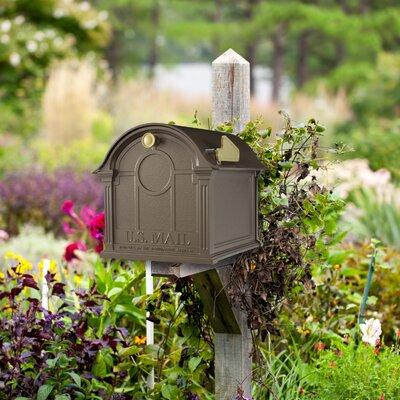 Whitehall Products Balmoral Wall Mounted Mailbox 16229 Fi...