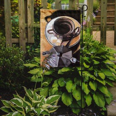 Caroline's Treasures Coffee I by Roy Avis 2-Sided Garden ...