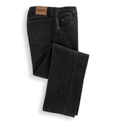 Men's Rugged Wear Relaxed Fit Jeans by Wrangler, Black Si...