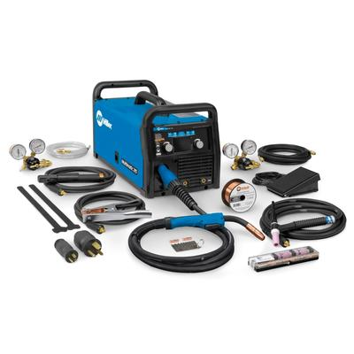Miller Multimatic 215 Auto-Set Multiprocess Welder with TIG Package