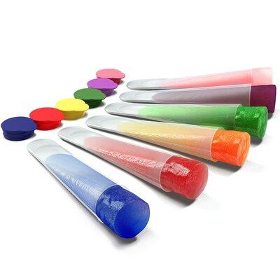 My Home Basics Clear Silicone Ice Pop and Popsicle Mold w...