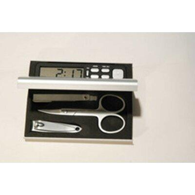 Heim Concept Manicure Travel Set with Alarm Clock 11706