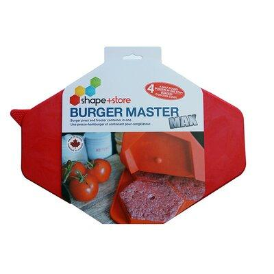 Shape+Store 32 Oz. Burger Master Max 4-in-1 Press and Fre...