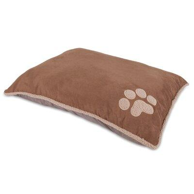 Aspen Pet Shearling Knife Edge Pillow Bed Assorted - 80388