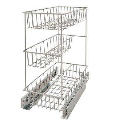 Closetmaid 3 Tier Compact Kitchen Cabinet Pull Out Basket...