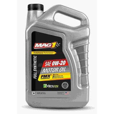 MAG 1 MG0D023Q Engine Oil,Synthetic Oil,0W-20,5 qt. G5573359