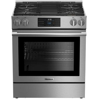 "Blomberg 30"" Slide-in Gas Range BGR30420SS"