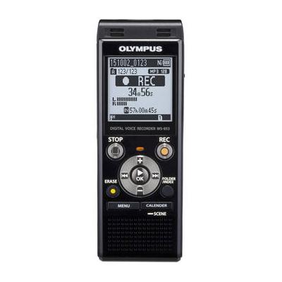 Olympus WS-853 Stereo Digital Recorder w/ 8GB Internal Memory and microSD Slot for Additional