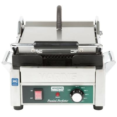 WARING-COMMERCIAL WPG150 Panini Perfetto Grooved Top & Bo...