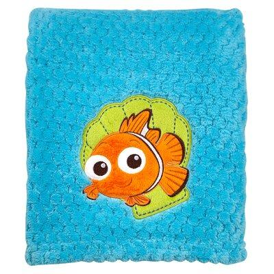Disney Finding Nemo Popcorn Coral Fleece Blanket 5288210