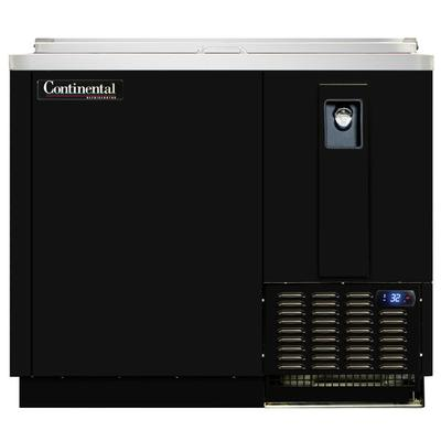"Continental CBC37-DC 37"" Black Deep Chill Horizontal Bott..."