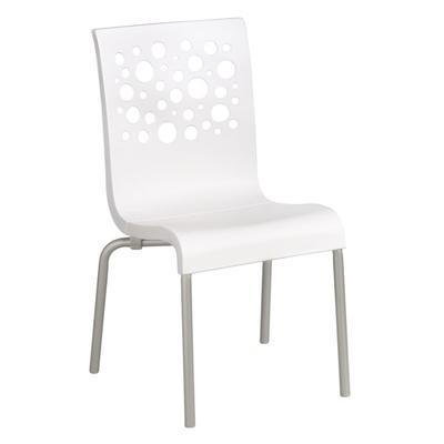 Grosfillex US021004 Tempo Indoor Stacking Resin Chair wit...