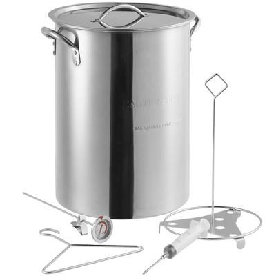 Backyard Pro Weekend Series 30 Qt. Stainless Steel Stock ...