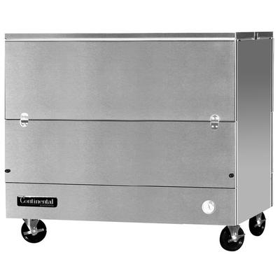 """Continental MC4-SS-DCW 49"""" Stainless Steel 2 Sided Cold W..."""