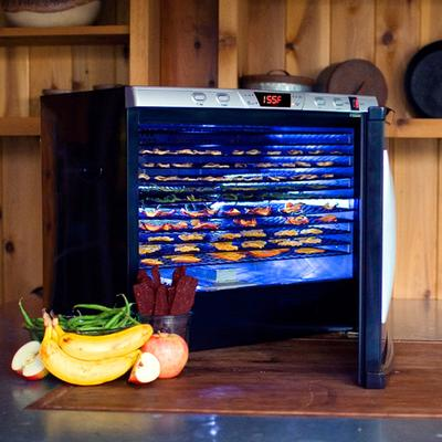Weston 28-0301-W Steel Alloy 12-Rack Food Dehydrator with...