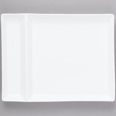 "World Tableware SL-900 Slate 9"" x 7"" Ultra Bright White 2..."