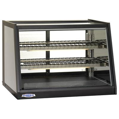 """Federal EH-3628SS Elements 35"""" Heated Countertop Display ..."""