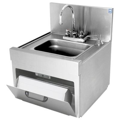 Eagle Group WSD14-15 Spec-Bar 1 Bowl Wall Mounted Underba...